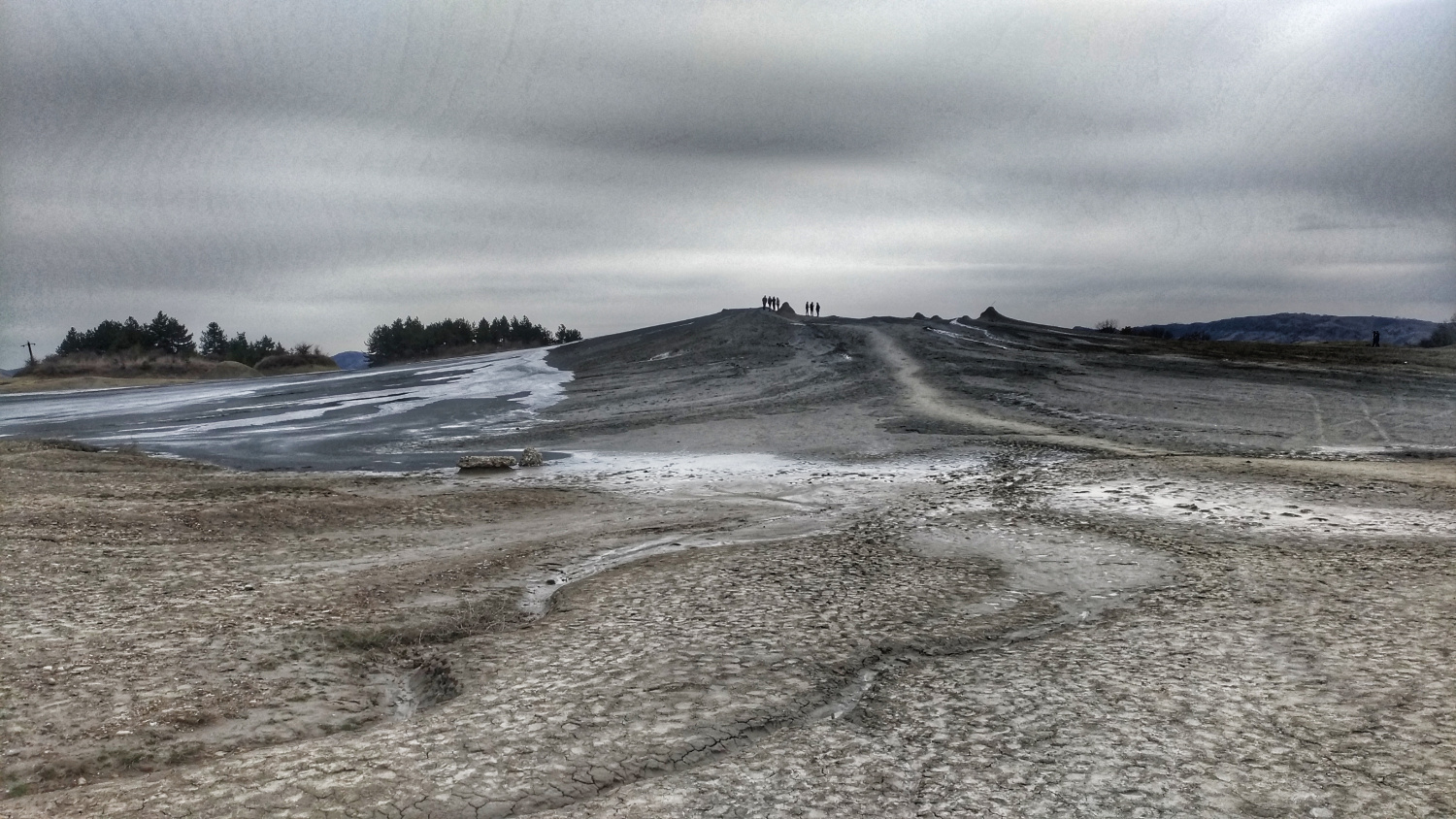 the Mud Volcanoes, Buzau, Romania