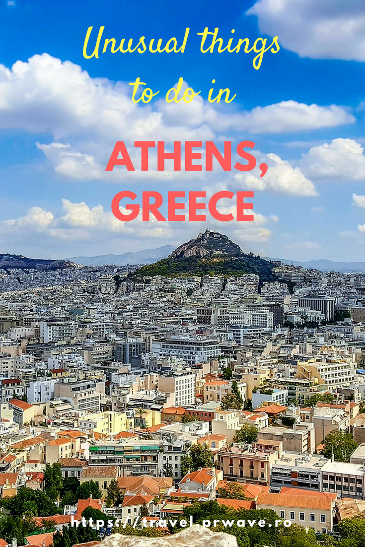 Unusual things to do in Athens, Greece. Save this pin and discover great #attractions in Athens beyond the famous ones. Have #fun in Athens! #Europe #Greece