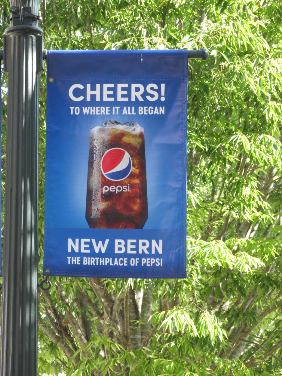 Pepsi Cola Store, - one of the top 7 things to do in New Bern North Carolina