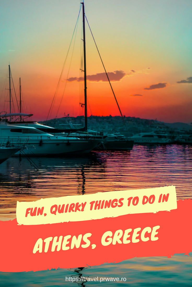 Fun, quirky things to do in Athens, Greece. Unusual #attractions to include on your #travel itinerary for #Athens
