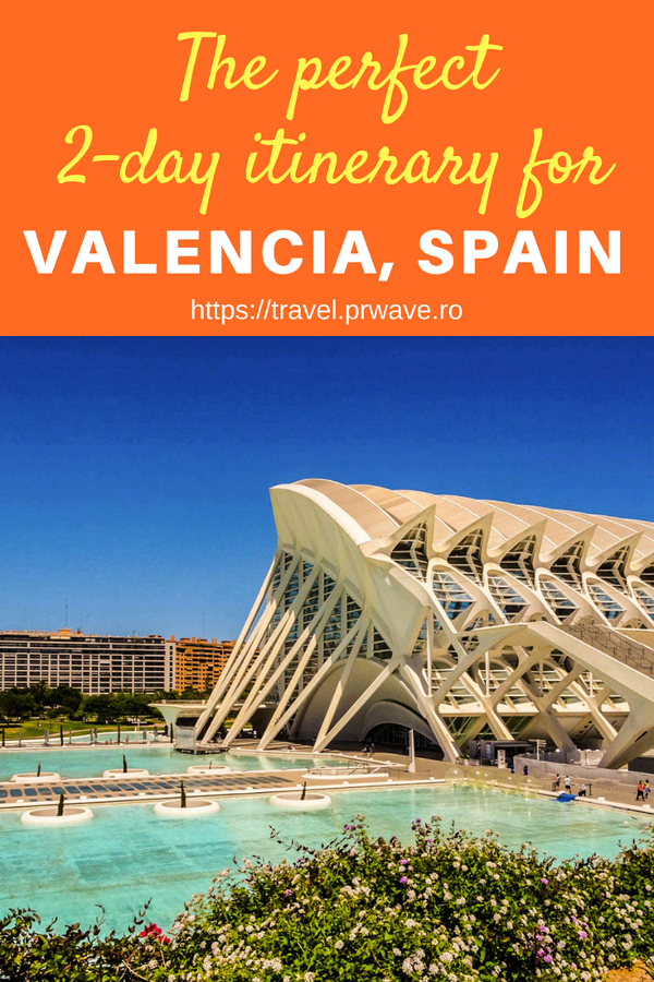 Planning a trip to Valencia? Here's the perfect 2-day itinerary for Valencia Spain by a local. Read the article to discover the top attractions in Valencia, where to eat in Valencia, and what to do in Valencia. Save this pin for later to your boards #valencia #spain #valenciaitinerary #valenciatravel  #itineraryvalencia