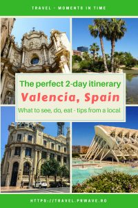 Heading to Valencia? Here's a local's ultimate 2-day itinerary for Valencia Spain. Read this travel guide for Valencia use it to plan your trip to Valencia as it includes food in Valencia, what to see in Valencia Spain, what to do at night in Valencia, and best attractions in Valencia. Save this pin for later to your boards #valencia #spain #valenciaitinerary #valenciatravel #itineraryvalencia #valenciaattractions #valenciathingstosee #valenciatrip #europe
