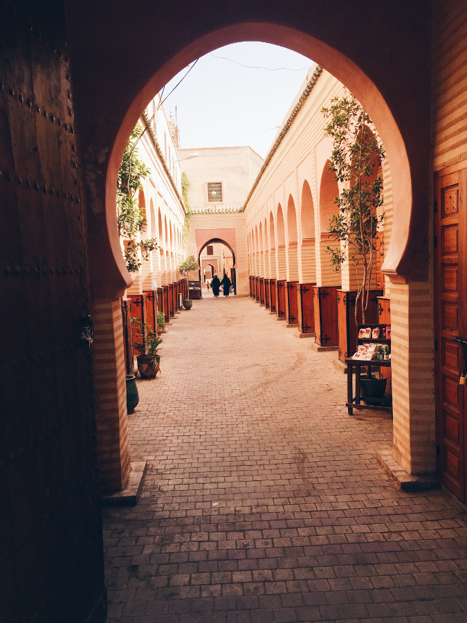 Medina Alleyway in Morocco. Get a tour guide for the Medina - this is one of the 13 useful thinbgs to know before you visit Morocco  #moroccotravel #traveltips
