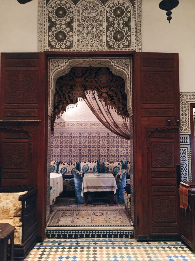 Stay at a riad in Morocco - one of the most important things to do when traveling to Morocco #Morocco #moroccotravel #traveltips