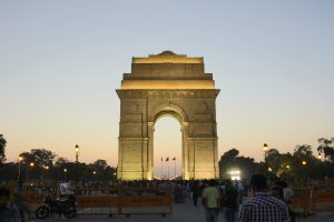 India Gate, Delhi - one of the best things to see in Delhi, India. Use this 3-day in Delhi, India travel itinerary by a local when planning your trip to Delhi. #Delhi #NewDelhi #olddelhi #India #Asia #Delhitravel #delhiguide #delhiitinerary