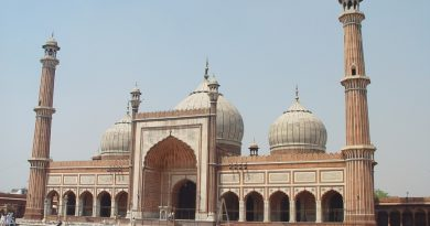 Picture of Jama Masjid in Delhi. Here's how to spend 3 days in Delhi, India - with recommendations for food in Delhi, Delhi attractions, and tips for Delhi from a local. #Delhi #NewDelhi #olddelhi #India #Asia #Delhitravel #delhiguide #delhiitinerary