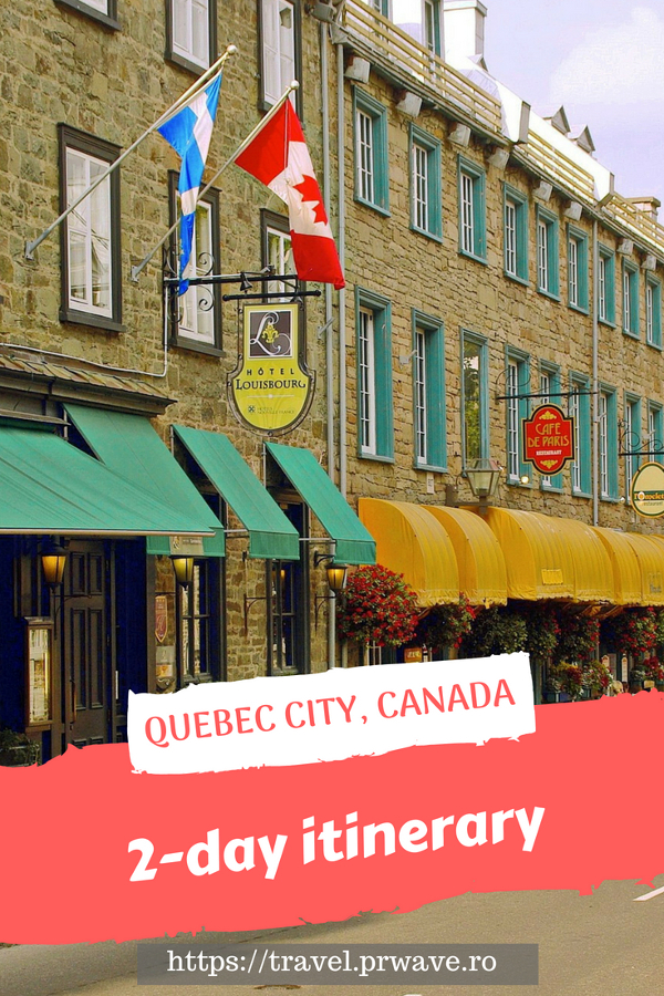 Planning a trip to Quebec City, Canada? Here's your 2-day itinerary for Quebec City, Canada from an insider with the best things to do in Quebec City Canada, including what to eat in Quebec and what to do in Quebec in 2 days. #quebec #quebecitinerary #quebectravel #quebectips #quebecguide #quebeccityitinerary