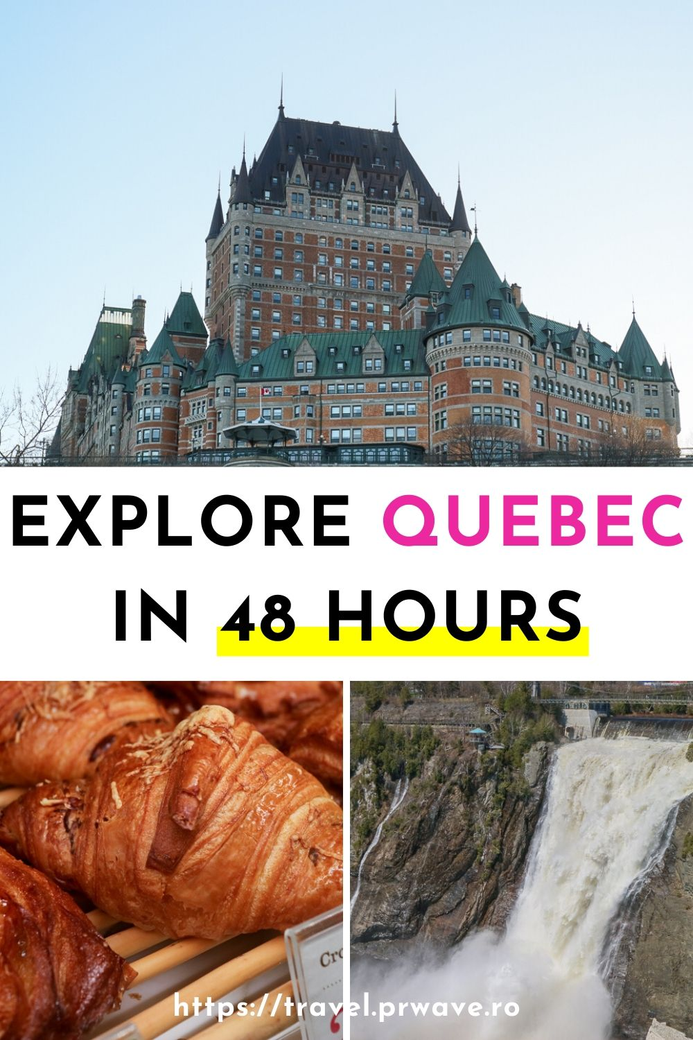 Explore Quebec in 48 hours: the best Quebec 2 day itinerary. Discover what to do in Quebec in two days from this cool itinerary for Quebec, Canada. Discover now Where to eat in Quebec and what to see and do in Quebec in 2 days! #quebec #canada #quebecitinerary #travelitinerary #travelmomentsintime #2daysinquebec #northamerica