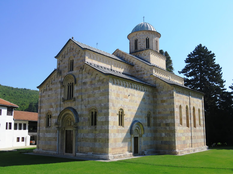 Medieval Monuments in Kosovo. Read this article and discover top UNESCO World Heritage Sites in Europe recommended by travel bloggers. #UNESCO #unescosites #unescositeseurope #europeunesco #kosovounesco #kosovo