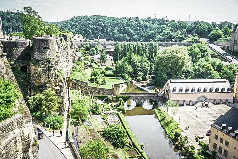 The Old City of Luxembourg - a not-to-miss UNESCO World Heritage Site in Germany. Read this article and discover more UNESCO World Heritage Sites in Europe recommended by travel bloggers. #UNESCO #unescosites #unescositeseurope #europeunesco #luxembourgunesco #luxembourg