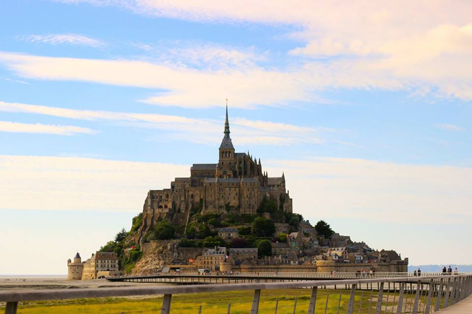 Mont Saint-Michel, France is a beautiful UNESCO World Heritage Site in Europe. Discover more amazing heritage sites in Europe from this article. #UNESCO #unescosites #unescositeseurope #europeunesco #franceunesco #france