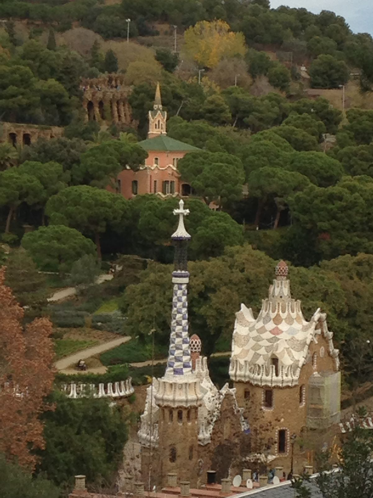 Parc Güell, Barcelona, Spain is part of the UNESCO World Heritage Sites in Europe. Discover more amazing heritage sites in Europe from this article. #UNESCO #unescosites #unescositeseurope #europeunesco #spainunesco #spain