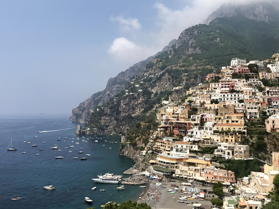 Positano - Amalfi Coast, Italy - UNESCO World Heritage Site. Read this article and discover top UNESCO World Heritage Sites in Europe recommended by travel bloggers. #UNESCO #unescosites #unescositeseurope #europeunesco #italyunesco #italy