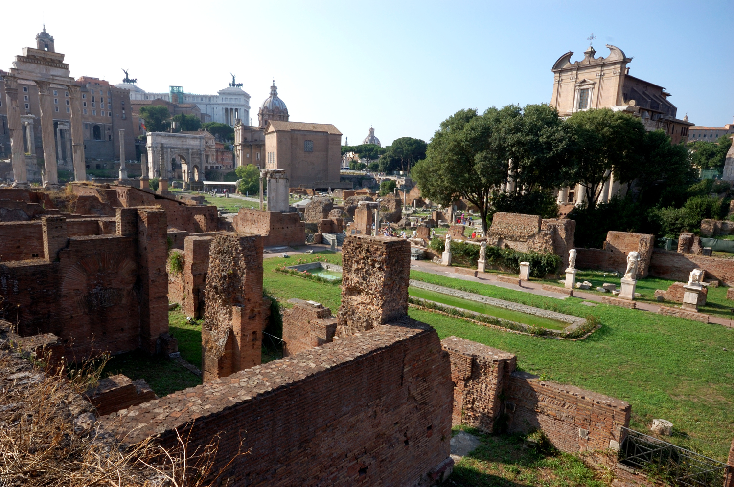 Rome historic centre, Italy is a UNESCO World Heritage Site in Europe. Read this article and discover the must-see UNESCO Heritage Sites in Europe recommended by travel bloggers. #UNESCO #unescosites #unescositeseurope #europeunesco #italyunesco #italy