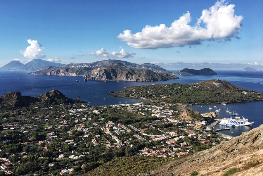 The Aeolian Islands, Italy. This is one of the most beautiful UNESCO World Heritage Sites in Europe. Discover more such popular heritages sites in Europe inside the article. #UNESCO #unescosites #unescositeseurope #europeunesco #italy #italyunesco