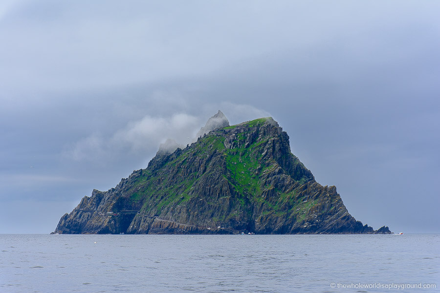 Skellig Michael, Ireland is a beautiful UNESCO World Heritage Site in Europe. Discover more amazing heritage sites in Europe from this article. #UNESCO #unescosites #unescositeseurope #europeunesco #irelandunesco #ireland