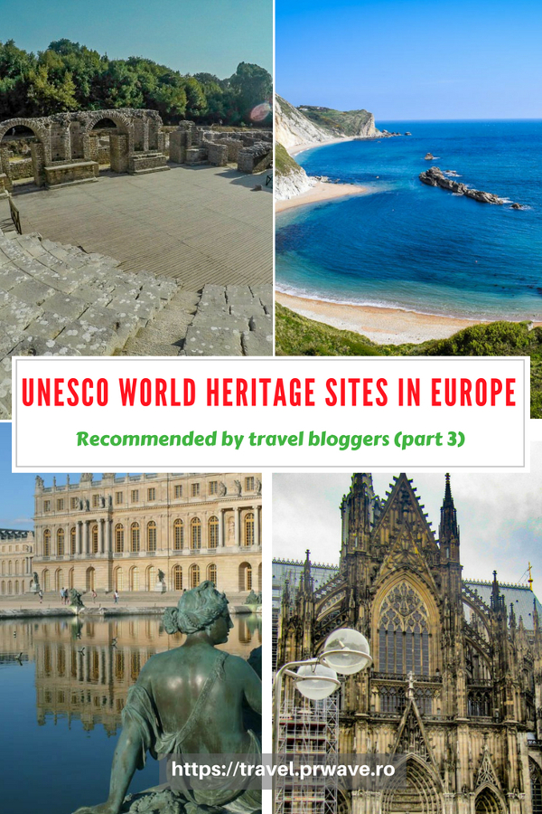 Planning to see the best UNESCO World Heritage Sites in Europe? Read this article and discover 20 amazing heritage sites in Europe recommended by travel bloggers - part 3 of the series dedicated to UNESCO sites in Europe. #UNESCO #unescosites #unescositeseurope #europeunesco