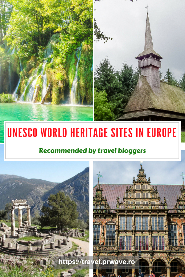 Do you want to see the best UNESCO World Heritage Sites in Europe? Read this article and discover the popular heritage sites in Europe recommended by travel bloggers. #UNESCO #unescosites #unescositeseurope #europeunesco