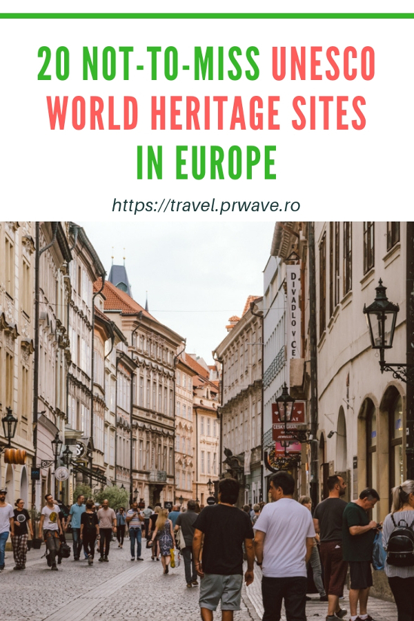 Do you like UNESCo sites? Then I got the perfect recommendations for you - 20 not-to-miss UNESCO World Heritage Sites to see in Europe with useful travel tips for them! Save this pin to your board #UNESCO #unescosites #unescositeseurope #europeunesco #europe