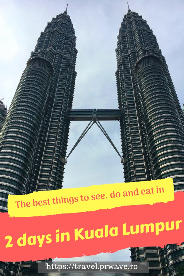 Do you have 2 days in Kuala Lumpur? Then use this travel itinerary to help you make the most of your visit! Discover the best things to do in Kuala Lumpur, what to eat in KL, what to see in Kuala Lumpur in two days. Save this pin for later to your boards #klitinerary #2daykualalumpur #kualalumpurguide #kualalumpurtraveling #kualalumpuritinerary