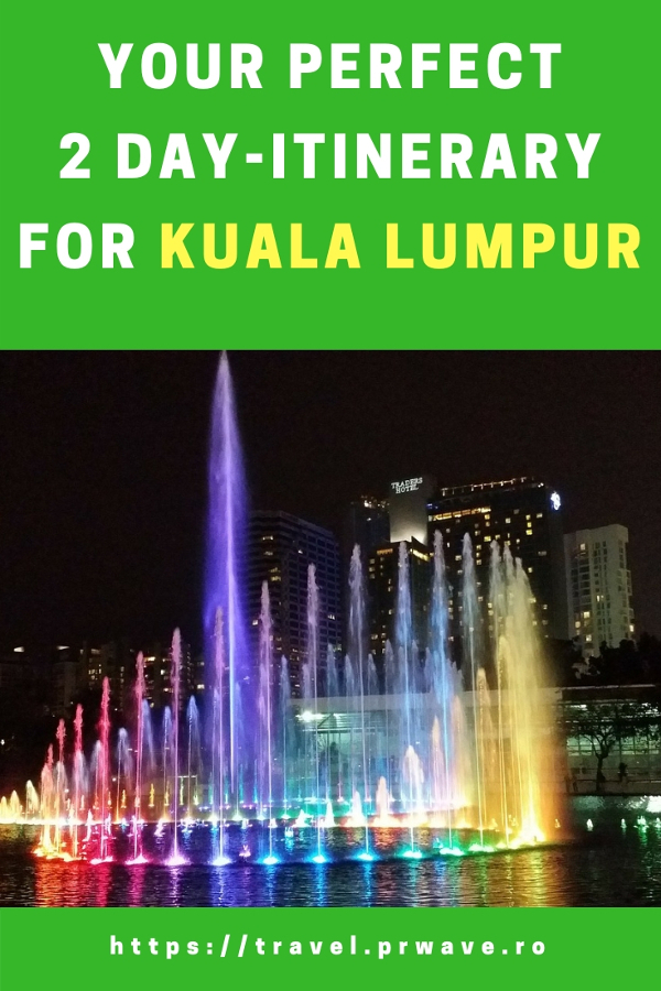 Planning a trip to Kuala Lumpur, Malaysia? Here's your perfect 2-day itinerary for KL. Read this travel guide for Kuala Lumpur use it to plan your trip to Kuala Lumpur as it includes food in Kuala Lumpur what to see in Kuala Lumpur, what to do at night in Kuala Lumpur, and best attractions in Kuala Lumpur. Save this pin for later to your boards #klitinerary #2daykualalumpur #kualalumpurguide #kualalumpurtraveling #kualalumpuritinerary