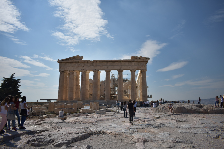 Acropolis, Greece is one of the best UNESCO monuments in Europe. Read the article to discover more natural sites in Europe, and a list of world heritage in Europe to add to your bucket list. #UNESCO #unescosites #unescositeseurope #europeunesco #greeceunesco #greece