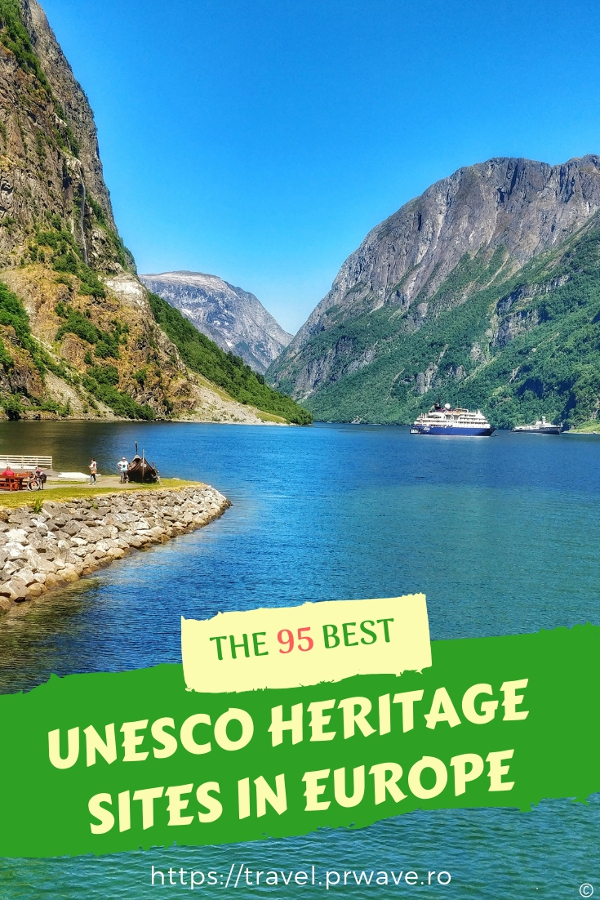 Discover the 95 best UNESCO heritage sites in Europe, including UNESCO nature sites in Europe, UNESCO monuments in Europe. This is a selection of world heritage in Europe to add to your bucket list. #UNESCO #unescosites #unescositeseurope #europeunesco