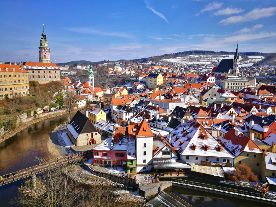 Cesky Krumlov is one of the best UNESCO heritage sites in Europe. Read the article to discover more natural sites in Europe, and a list of world heritage in Europe to add to your bucket list. #UNESCO #unescosites #unescositeseurope #europeunesco #czechrepublicunesco #czechrepublic