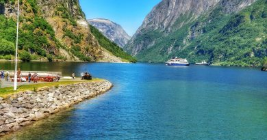 Nærøyfjord – Unesco Protected Fjord, Norway is one of the best UNESCO heritage sites in Europe. Read the article to discover more natural sites in Europe, and a list of world heritage in Europe to add to your bucket list. #UNESCO #unescosites #unescositeseurope #europeunesco #norwayunesco #norway