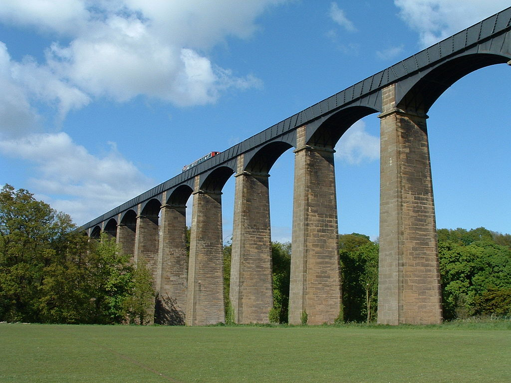 The Pontcysyllte Aqueduct, Wales, UK is one of the best UNESCO monuments in Europe. Read the article to discover more natural sites in Europe, and a list of world heritage in Europe to add to your bucket list. #UNESCO #unescosites #unescositeseurope #europeunesco #ukunesco #uk