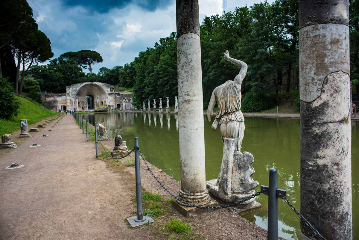 The Roman Emperor Hadrian's Villa, Italy is one of the best UNESCO monuments in Europe. Read the article to discover more natural sites in Europe, and a list of world heritage in Europe to add to your bucket list. #UNESCO #unescosites #unescositeseurope #europeunesco #italyunesco #italy