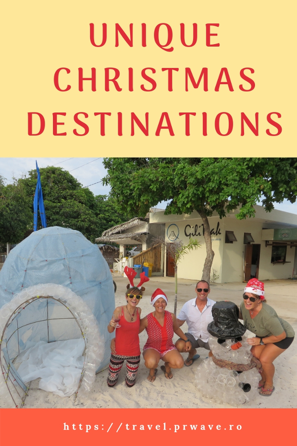 Planning a Christmas trip? These are the best alternative Christmas getaways recommended by travel bloggers. Discover unique Christmas destinations from this article. Save this pin to your boards #christmas #christmasdestinations #christmasholidays #christmastrips #uniquechristmas #unusualchristmas #alternativechristmas