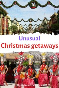 32 Unusual Christmas getaways ideas that will blow your mind! Answers to where shiuld I go for Christmas included. #christmas #getaway #travel #christmastravel #christmasgetaway