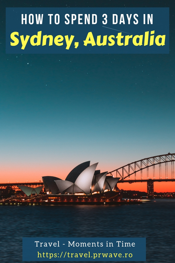 Heading to Sydney? Here's how to spend 3 days in Sydney, Australia in this insider's 3-day itinerary for Sydney that includes the best attractions in Sydney, where to to eat in Sydney, and free things to do in Sydney. #sydney #australia #sydneyaustralia #sydneyguide #sydneyitinerary #sydneytraveling #australiatraveling #sydneytravelguide