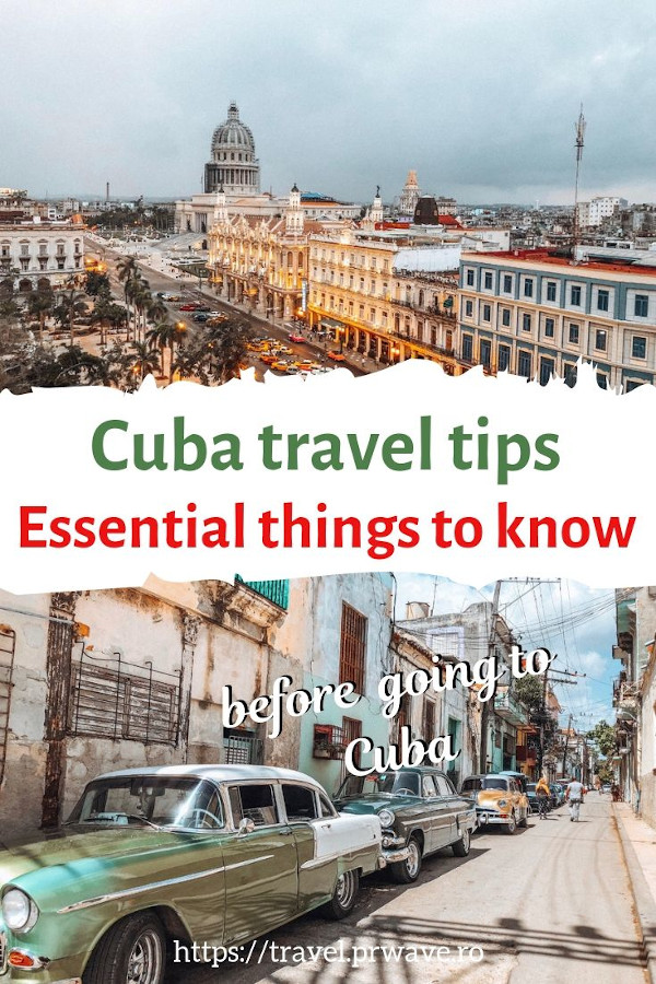 Cuba travel tips: essential things to know before visiting Cuba #cuba #travel #traveltips #tips