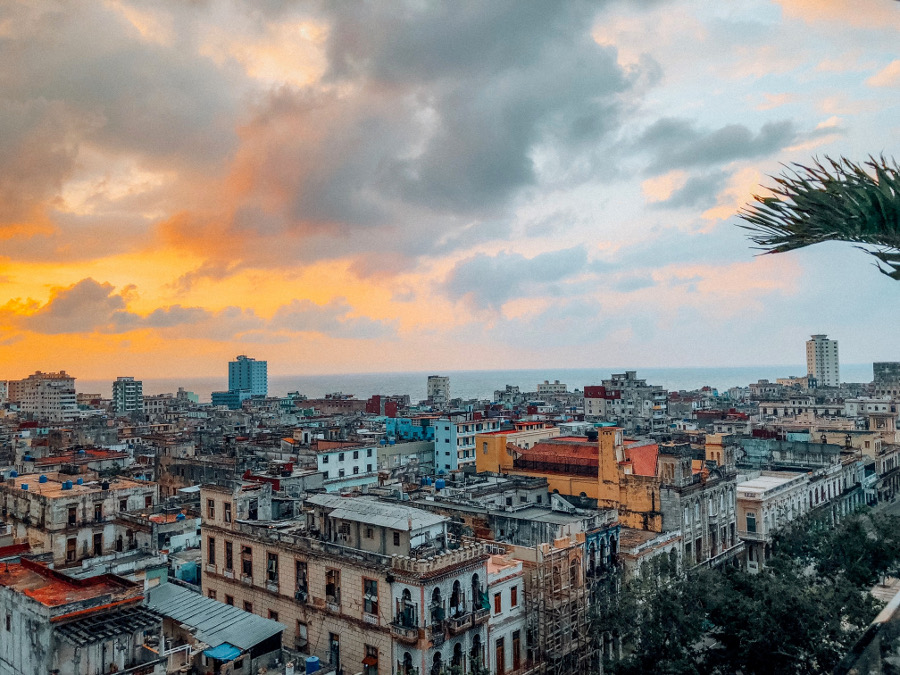 One of the beautiful Havana views - Learn the top 10 things to know before traveling to Cuba. Cuba safety, Cuba tourism, and Cuba tips included #cubatips #cubafacts #havanatips #havanafacts #cubathingstoknow