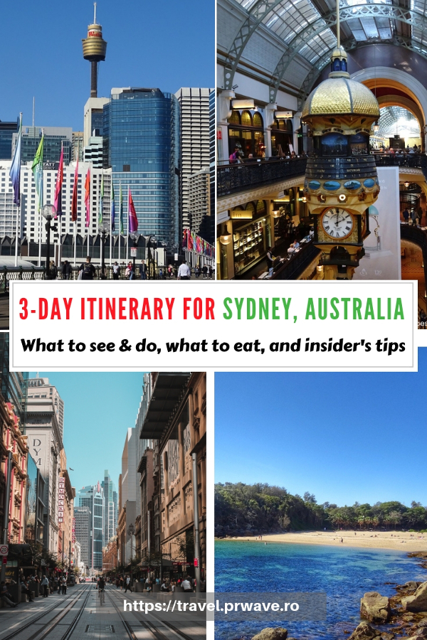 Planning to visit Sydney? Use this Sydney travel itinerary and see what you can do if you have three days in Sydney, Australia. The itinerary includes the best places to eat as well as free things to do in Sydney. #sydney #australia #sydneyaustralia #sydneyguide #sydneyitinerary #sydneytraveling #australiatraveling #sydneytravelguide
