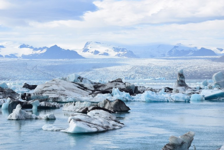 the Jokulsarlon lagoon is one of the best places to visit in Iceland, Read this article and discover the best Tips for visiting Iceland: What to know before you go to Iceland #iceland #icelandtravel #reykjavik #icelandtips #icelandtraveltips