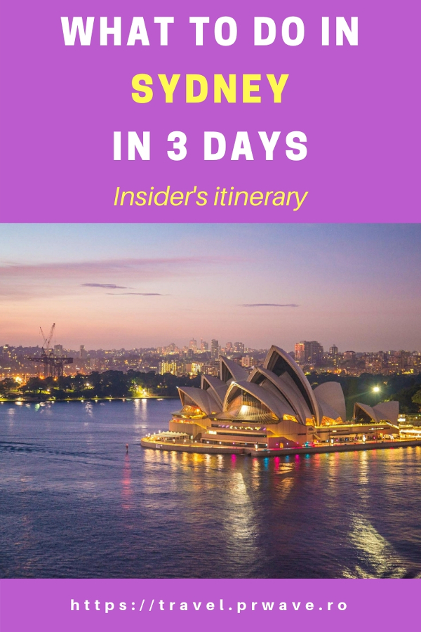 Planning a trip to Sydney, Australia? Here's your Sydney travel plan with the best things to do in Sydney in three days. #sydney #australia #sydneyaustralia #sydneyguide #sydneyitinerary #sydneytraveling #australiatraveling #sydneytravelguide