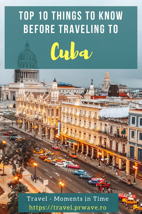 Planning to visit Cuba? Discover the top 10 things to know before traveling to Cuba - Cuba tips, Cuba points of interest,  Cuba travel tips and advice. #cubatips #cubafacts #havanatips #havanafacts #cubathingstoknow