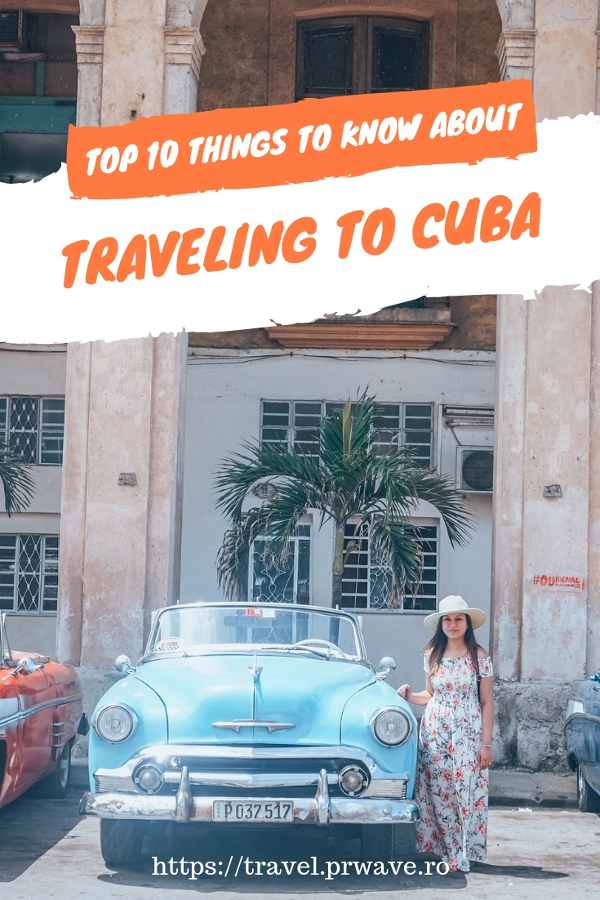 Cuba travel tips and advice - the top 10 things to know before going to Cuba. Havana travel tips included as well. #cubatips #cubafacts #havanatips #havanafacts #cubathingstoknow