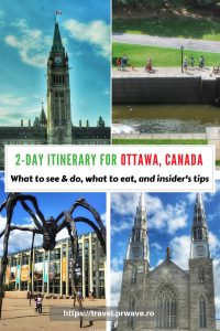 Planning to visit Ottawa, Canada? Use this Ottawa travel itinerary and see what you can do if you have two days in Ottawa. The itinerary includes the best places to eat in Ottawa, as well as things to do in Ottawa in 2 days. Save this pin to your boards #ottawa #ottawaitinerary #ottawacanada #ottawaattractions #ottawathingstodo