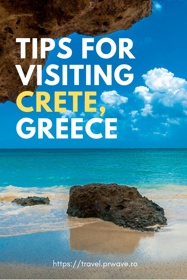Planning a trip to Crete, Greece? Here are the best tips for visiting Crete: how to make the most of your trip to Crete including when to visit Crete, what to do in Crete, what to eat in Crete, and more. Save this pin to your board. #crete #greece #cretetips #greecetips