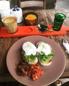 Seniman Coffee Studio is a great place to eat breakfast in Ubud. They also have a coffee workshop. Read this itinerary for Ubud and see the best things to do in Ubud. #ubuditinerary #ubudguide #baliindonesia #balitravel #bali #baliholiday #balinese #ubud