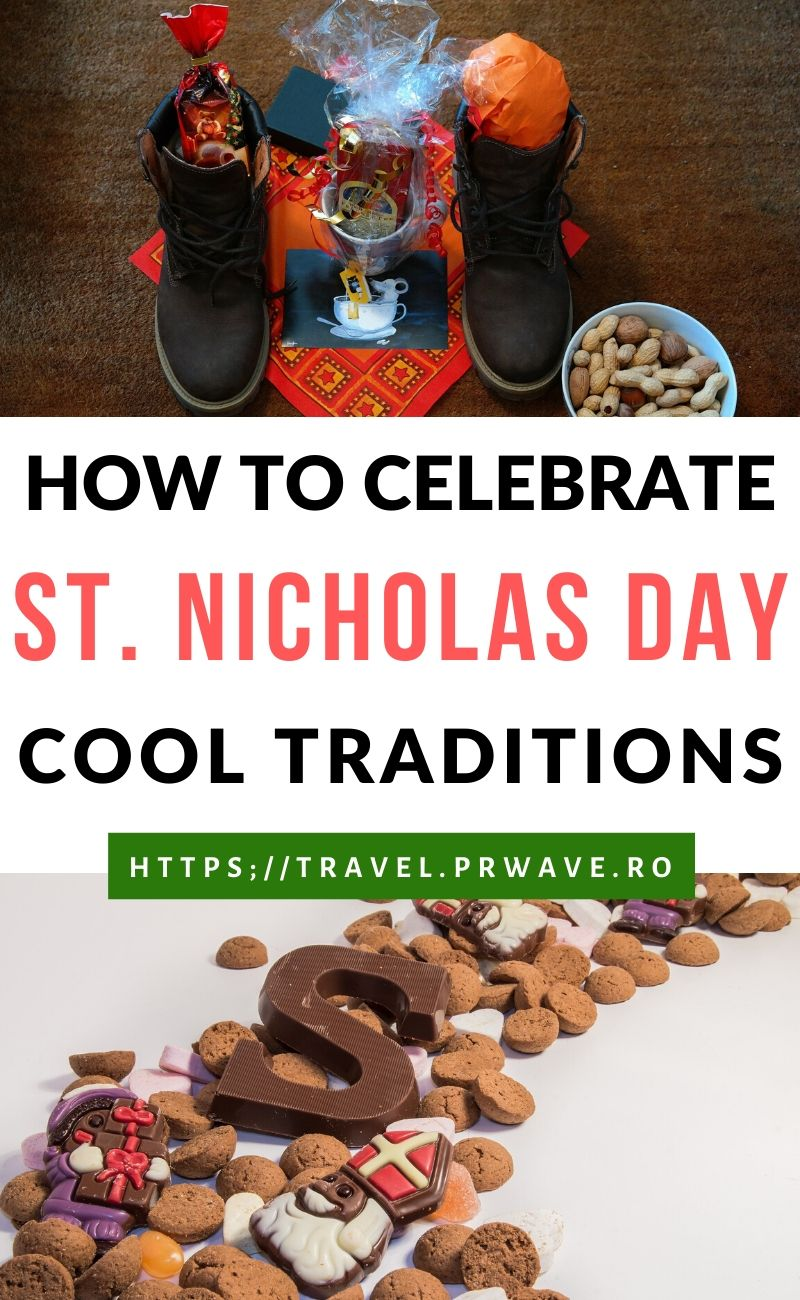 How to celebrate Saint Nicholas Day. Discover interest St. Nicholas traditions across the globe and find out if Saint Nicholas is connected to Santa Clause. Learn when is Saint Nicholas Day celebrated and information about traditions such as Krampus, Sinterklaas, Saint Nicholas Day in Europe, St Nicholas day in Romania, St. Niklaus, and more. #saintnicholas #stnicholas #stnicholastraditions #christmas