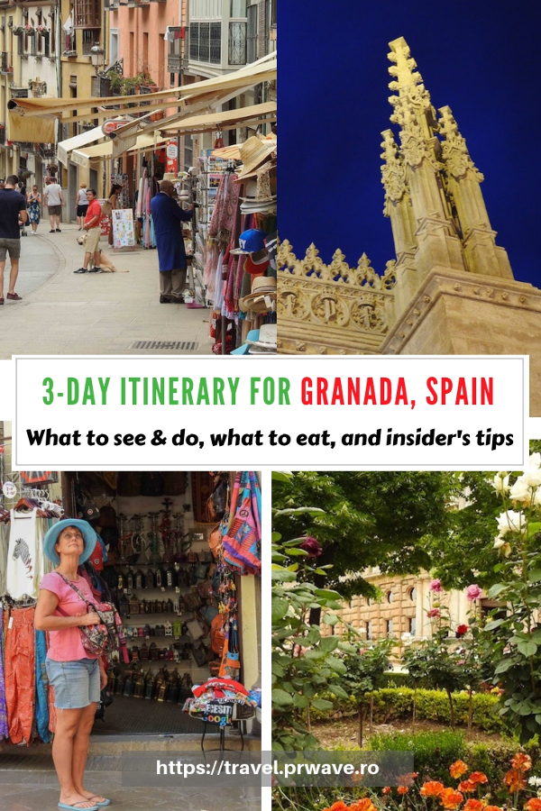 Planning a short trip to Granada, Spain? Here's how to spend 3 days in Granada and discover the best places to visit in Granada, Andalusia, Spain during this time. Learn how to explore Granada in 3 days, what to see and do from an insider. Save this pin to your boards #granada #granadaitinerary #granadatravel #granadaspain #granadaguide #spaintravel