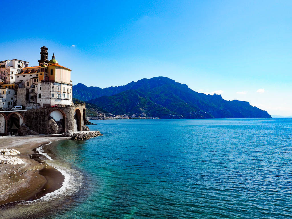 Atrani - Amalfi Coast - Untold Morsels. Discover 43 romantic destinations in Europe ideas. #romanticeurope #europe #valentinesday #love #citybreakseurope #romanticdestinations