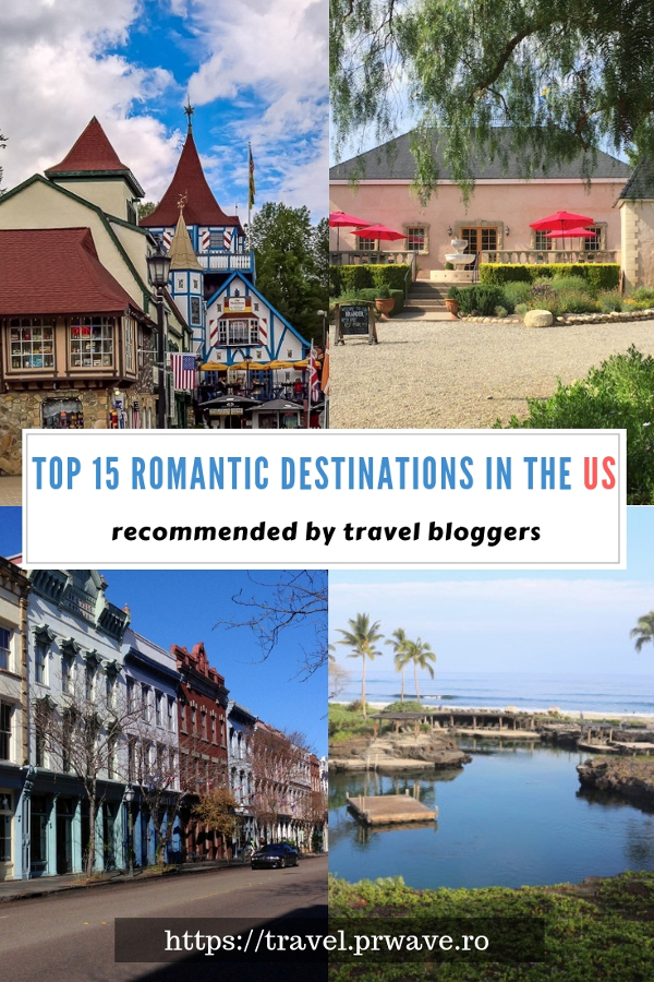 Top 15 romantic US destinations to share with your loved one. Discover the romantic US getaways from this article. #romanticus #usa #valentinesday #love #citybreaksus #romanticdestinations #romanticusa