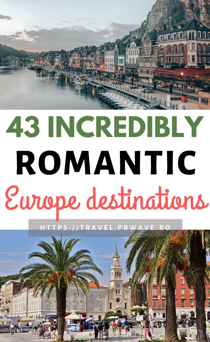 43 incredibly romantic Europe destinations. Discover the best Valentine's Day destinations in Europe. These are great romantic city breaks in Europe! Discover amazing famous and off the beaten path romantic places in Europe for couples from this selection of 43 best Valentine's Day getaways in Europe. #valentinesday #valentines #europe #getaways #valentineseurope #love #romantic #travel