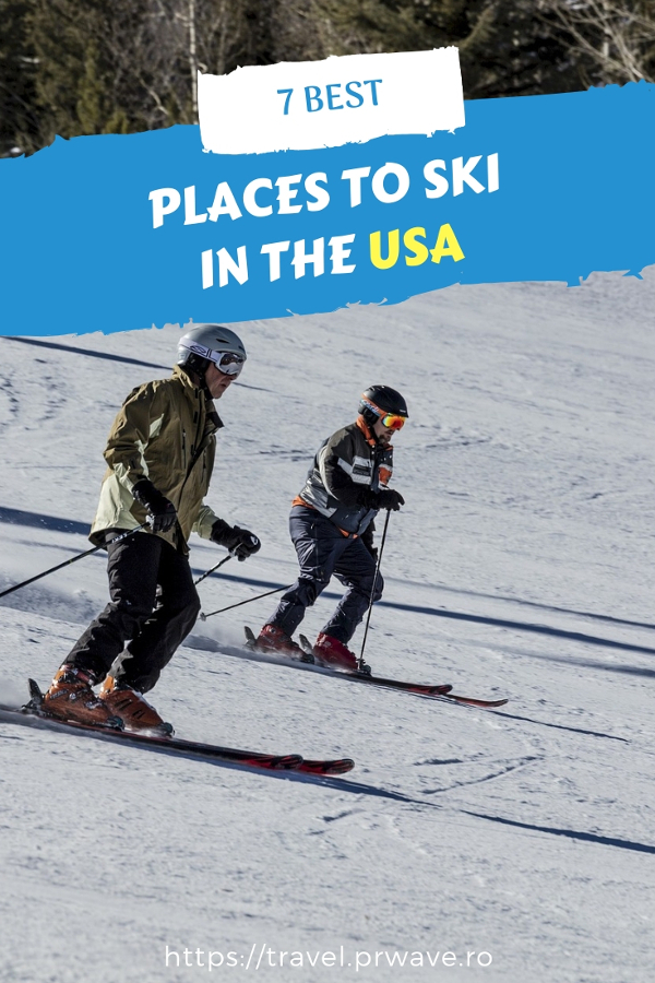Discover the top places to ski in US. These are indeed the top ski destinations in the USA. Save this pin to your boards. #usa #usaski #colorado #jacksonhole #aspen #utah